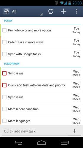 دانلود GTasks: To-Do List & Task List 3.0.3-build-3039 – اپلیکیشن مدیریت کارها اندروید