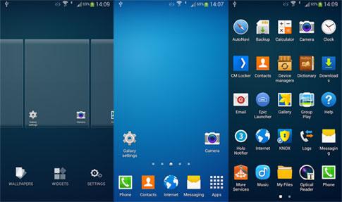 دانلود Galaxy Launcher (TouchWiz)  - گلکسی لانچر اندروید!