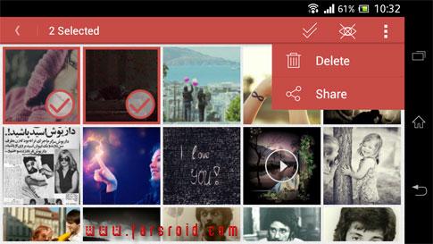 دانلود Gallery Plus - Hide Pictures - برنامه مخفی کردن عکس و ویدئو اندروید