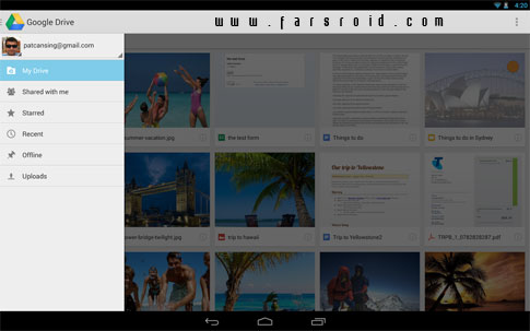 Download Google Drive Android Apk App - NEW FREE