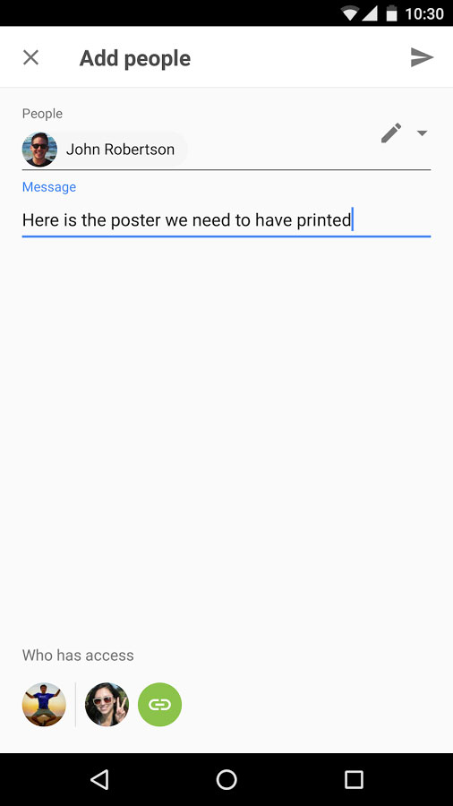 Google Drive Android - برنامه رایگان اندروید