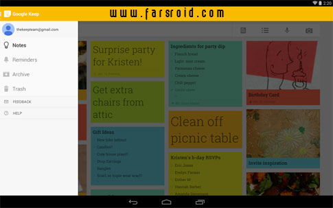 Download Google Keep Android Apk - New Free Google Play