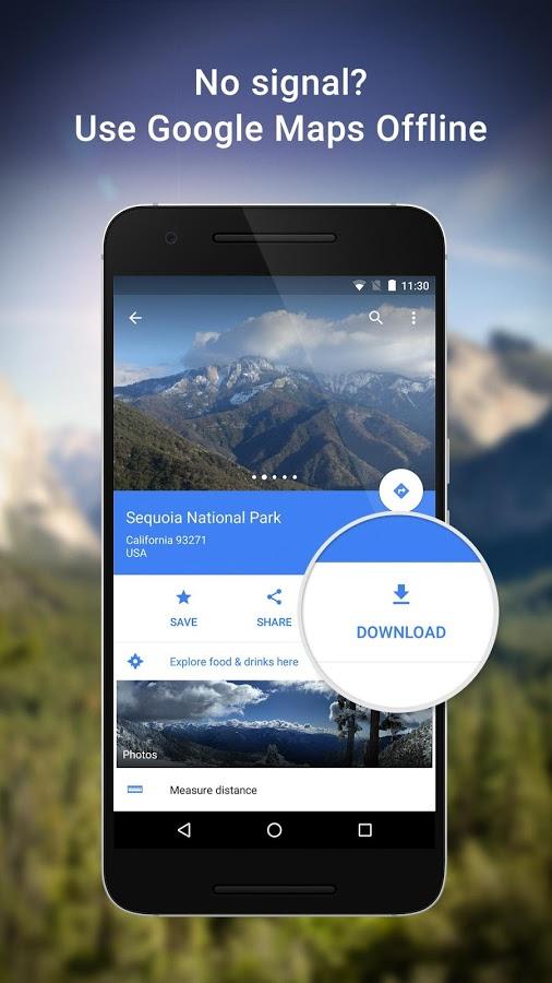 Google Maps Android - برنامه نقشه یابی اندروید
