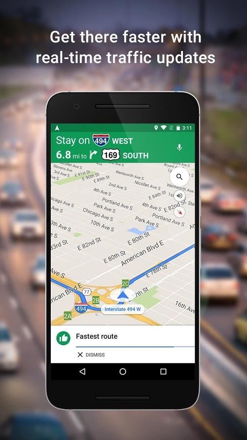 دانلود راهنمای صوتی گوگل مپ