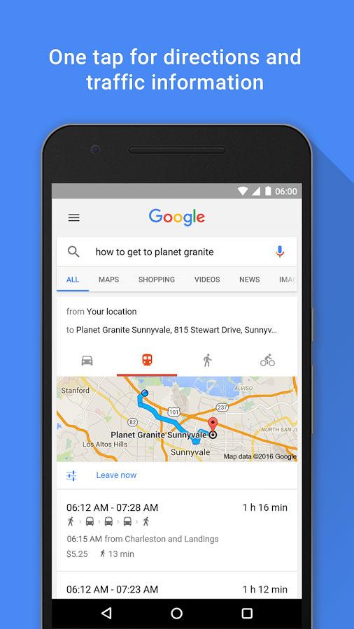 Google Search android - برنامه گوگل اندروید