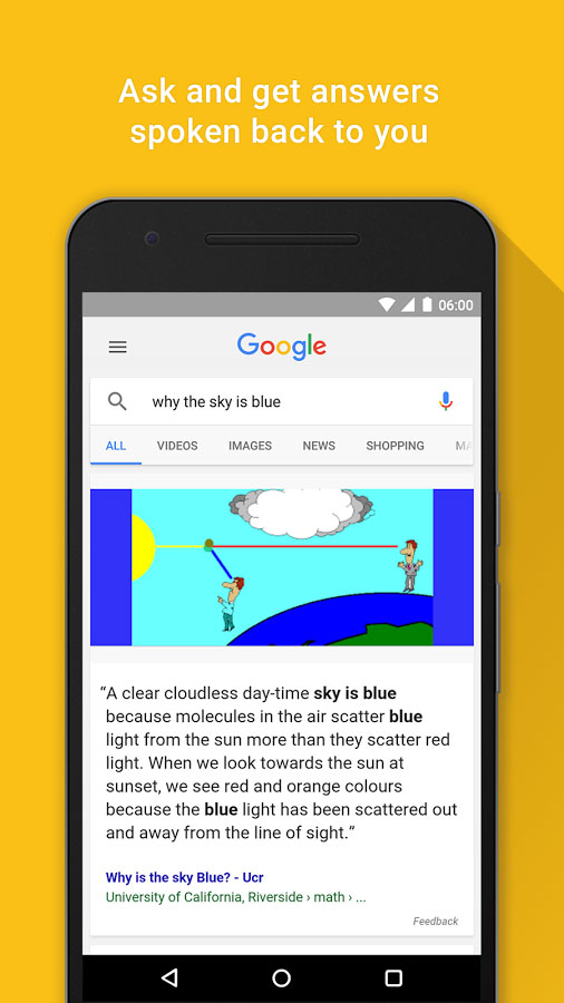 Google Search android - برنامه گوگل اندروید