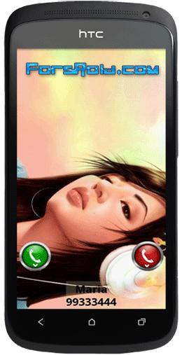 HD Full Screen Caller ID - تمام صفحه کردن عکس مخاطبین
