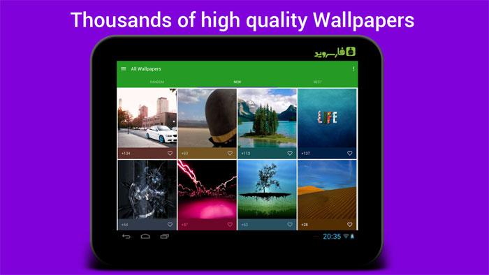 دانلود HD Wallpapers and Background - مجموعه والپیپر آندروید !