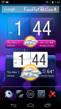 HD Widgets Android