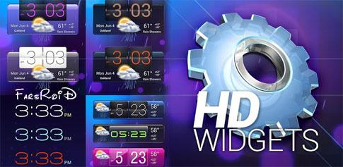 دانلود HD Widgets 4.0.5 Final – مجموعه ویجت اچ دی اندروید