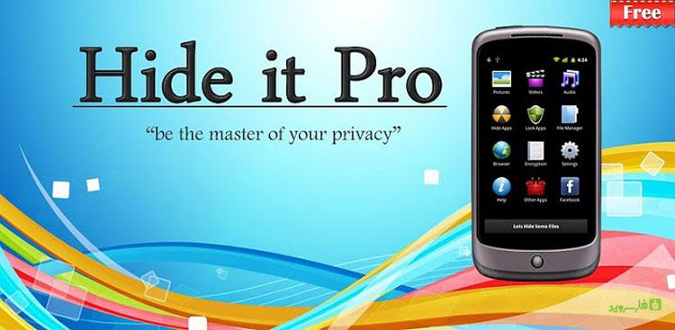 دانلود Hide Pictures - Hide It Pro - مخفی ساز اندروید!