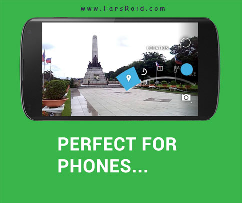 Holo Camera PLUS Android - برنامه دوربین کاربردی اندروید