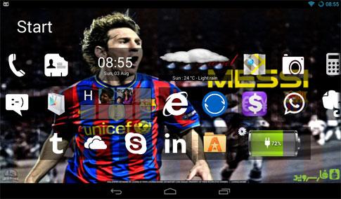 Home8+like Windows 8 Android - برنامه اندروید