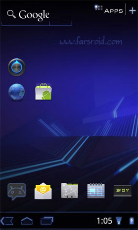 Honeycomb Launcher + Android لانچر جدید اندروید