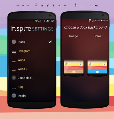 Inspire Launcher Android - برنامه لانچر اندروید