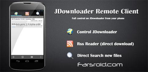 JDownloaderRcPro - مدیریت دانلود اندروید
