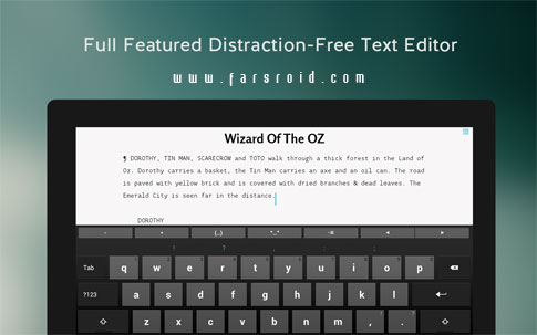JotterPad X: Writer Android - برنامه اندروید