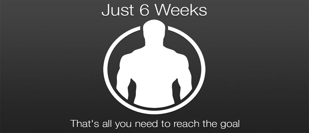 دانلود Just 6 Weeks - اپلیکیشن بدنسازی در 6 هفته اندروید !