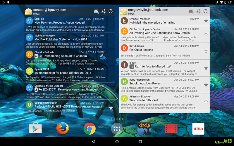 K-@ Mail Pro - Email App Android