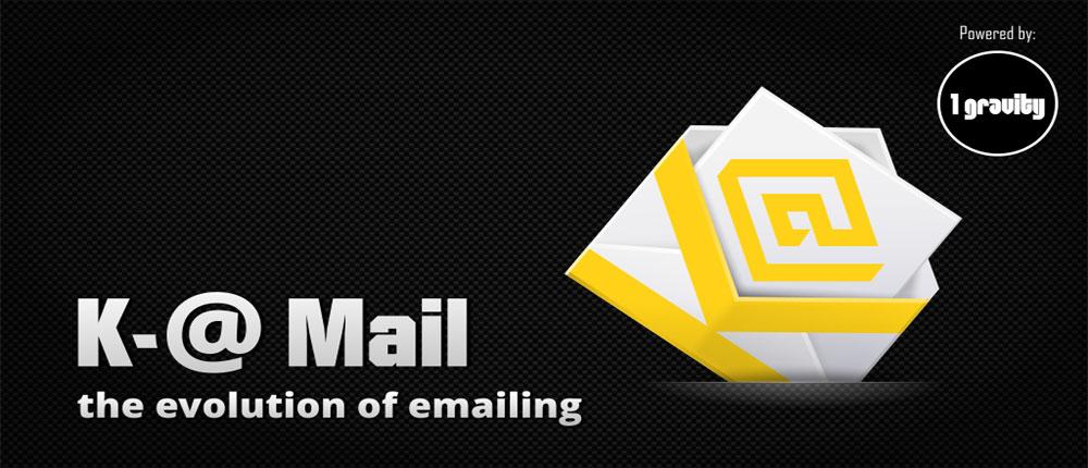 دانلود K-@ Mail Pro - Email App - کلاینت مدیریت ایمیل اندروید !