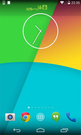KK Launcher ( Android L UI ) Android - برنامه اندروید
