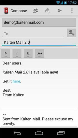 Kaiten Mail google play