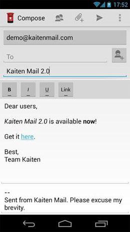 Kaiten Mail google play