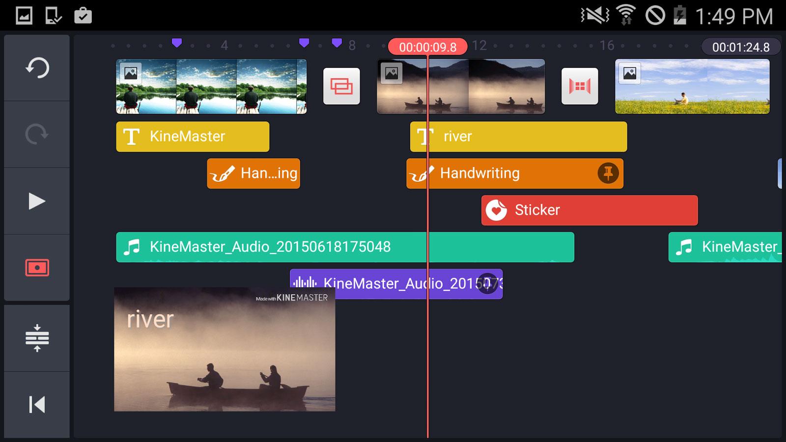 دانلود KineMaster Pro – Video Editor 4.7.5.11896.GP - ویرایشگر ویدئو اندروید + مود