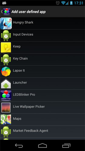 LEDBlinker Notifications Android - برنامه اندروید