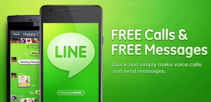 دانلود LINE: Free Calls & Messages 8.14.2