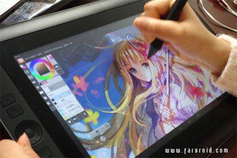 دانلود LayerPaint HD - برنامه نقاشی اندروید - ویژه تبلت
