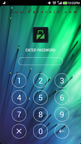 Lockdown Pro – App Lock Android - برنامه اندروید