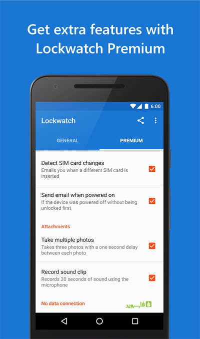 Lockwatch Premium Android