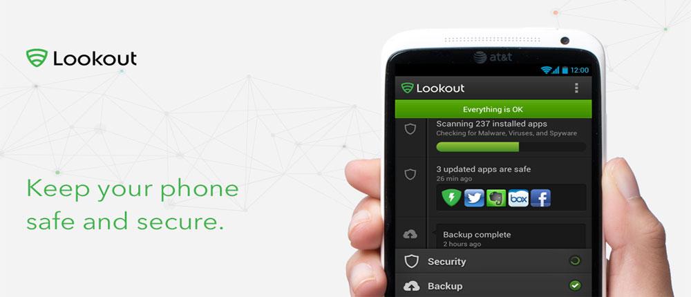 دانلود Lookout Security & Antivirus - آنتی ویروس