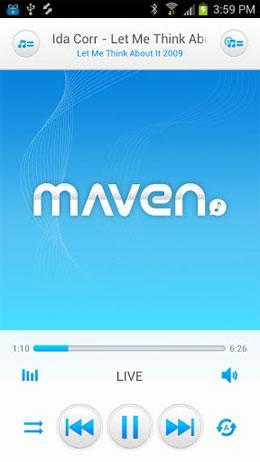 دانلود MAVEN Music Player (Pro) 2.48.39 – پلیر سه بعدی اندروید