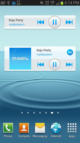 MAVEN Music Player Android