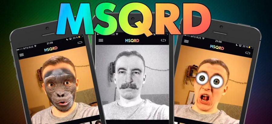 دانلود MSQRD - برنامه محبوب ساخت سلفی ویدئویی بامزه اندروید
