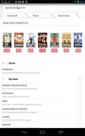 Mantano Ebook Reader Premium - نرم افزار اندروید