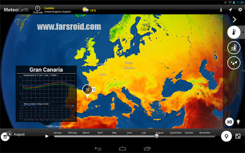 Download MeteoEarth Premium Android Apk - New