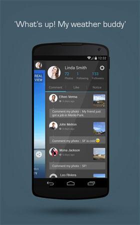 MoWeather Android - برنامه اندروید