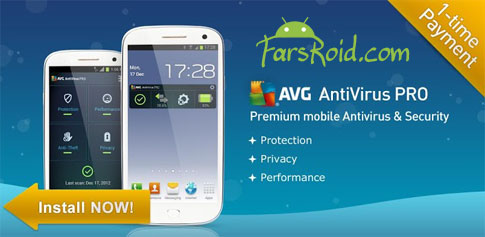 Mobile AntiVirus Security PRO - آنتی ویروس قوی اندروید