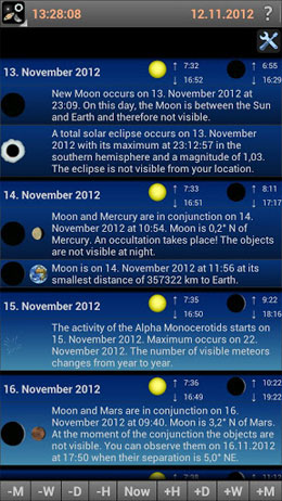 Mobile Observatory – Astronomy Android