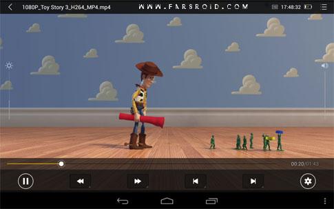 MoliPlayer-video&music media Android پلیر رایگان اندروید