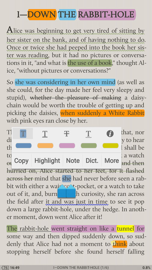 Moon+ Reader Pro Android