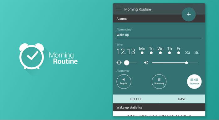 دانلود Morning Routine - Alarm Clock Premium - ساعت زنگدار متفاوت اندروید !