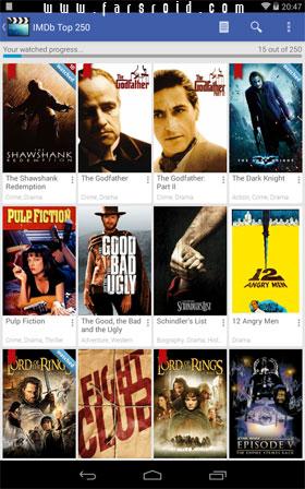 Movie Mate Pro Android - برنامه کاربردی اندروید