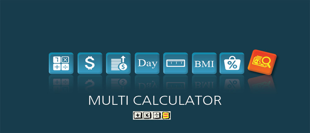 دانلود Multi Calculator - ماشین حساب چندکاره اندروید