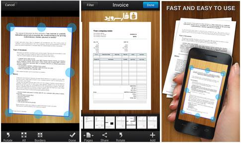دانلود My Scans, PDF Document Scanner - اسکنر اندروید!