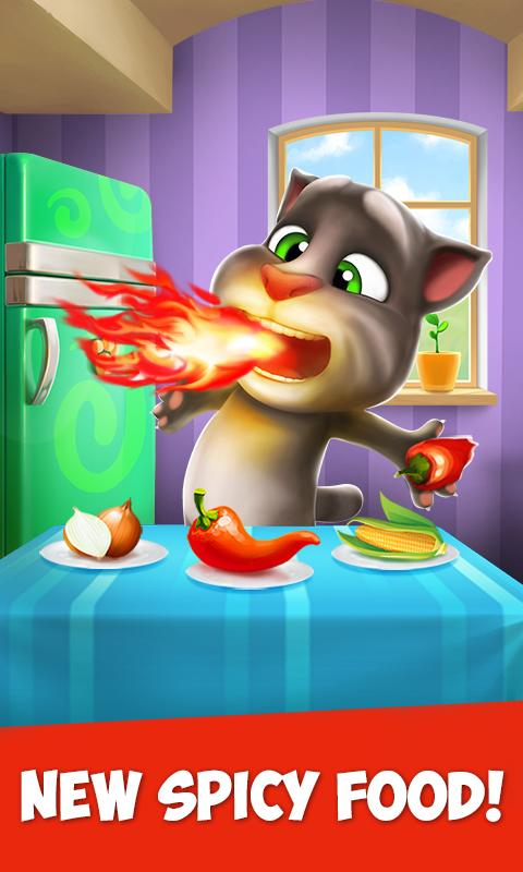 My Talking Tom Android بازی گربه اندروید