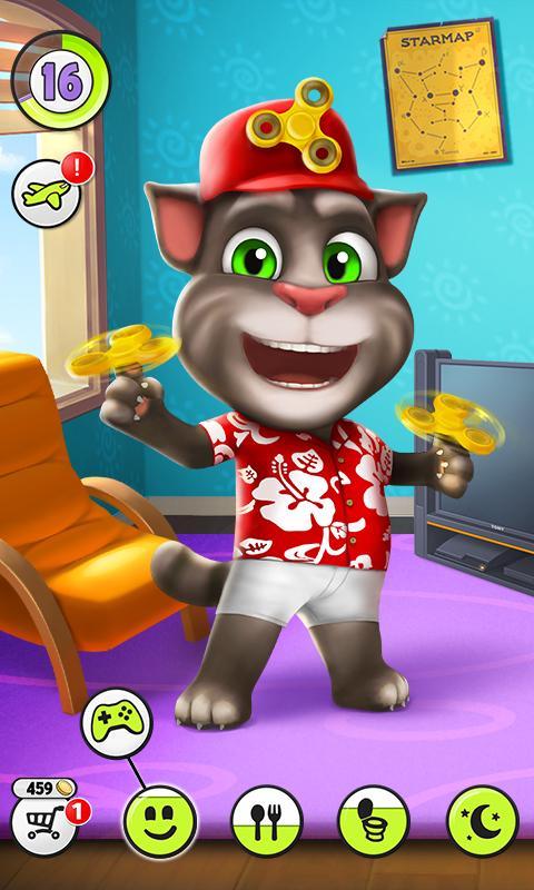 My Talking Tom Android بازی گربه اندروید